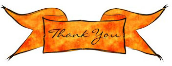 Image of a Thank You banner