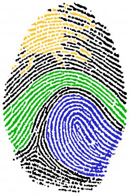 Digital Fingerprint Graphic